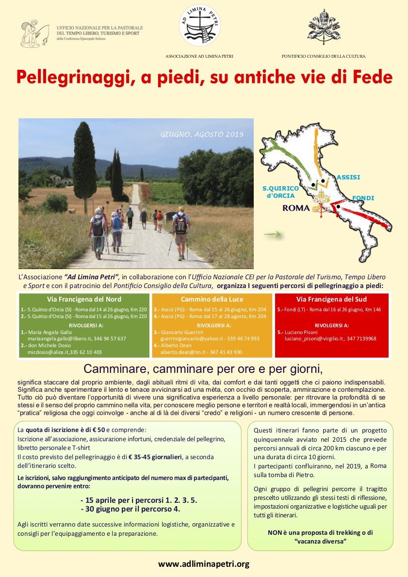 Pellegrinaggi Ad Limina Petri 2019