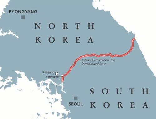 In pellegrinaggio per la pace tra le due Coree