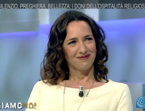 La presidente Gaia Ferrara a TV2000